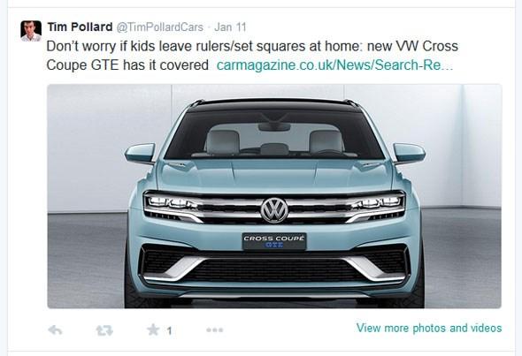 VW Cross Coupe Detroit