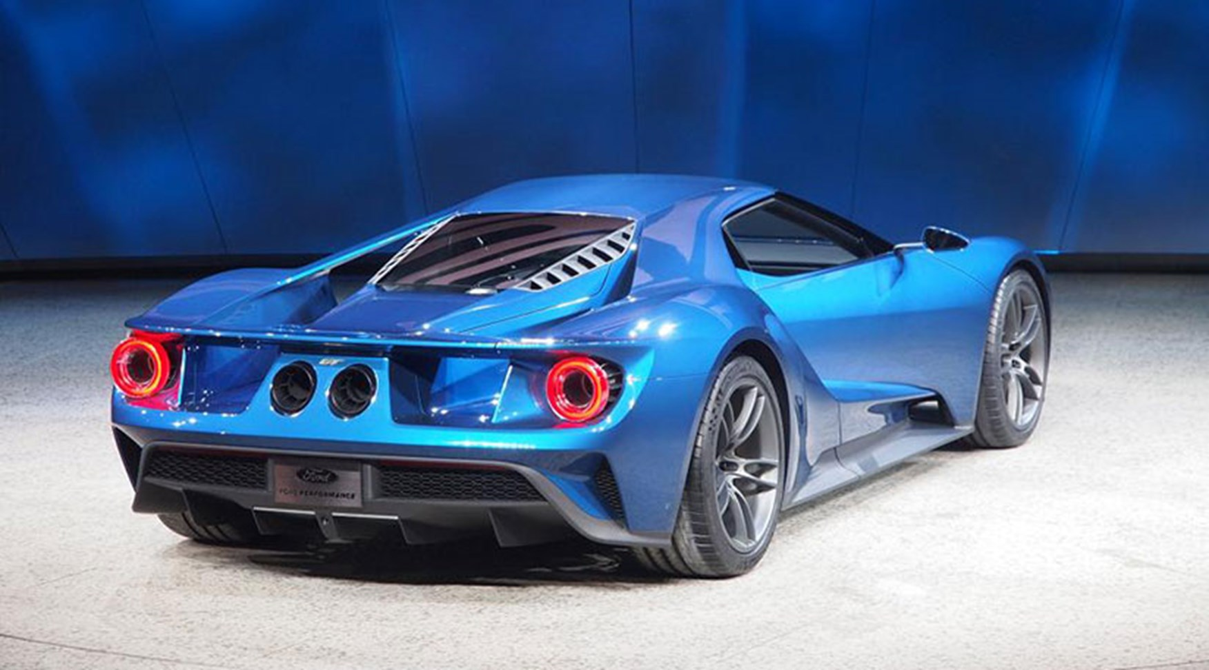 Old Ford Gts Were On Hand Nearby Setting The Context Of The New  Gt