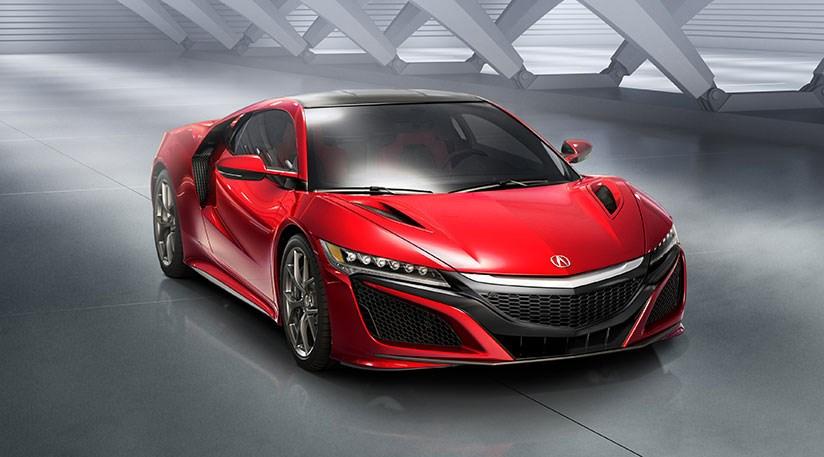 Honda Nsx 2016 Acura S Hybrid Sports Car At Detroit Car Magazine