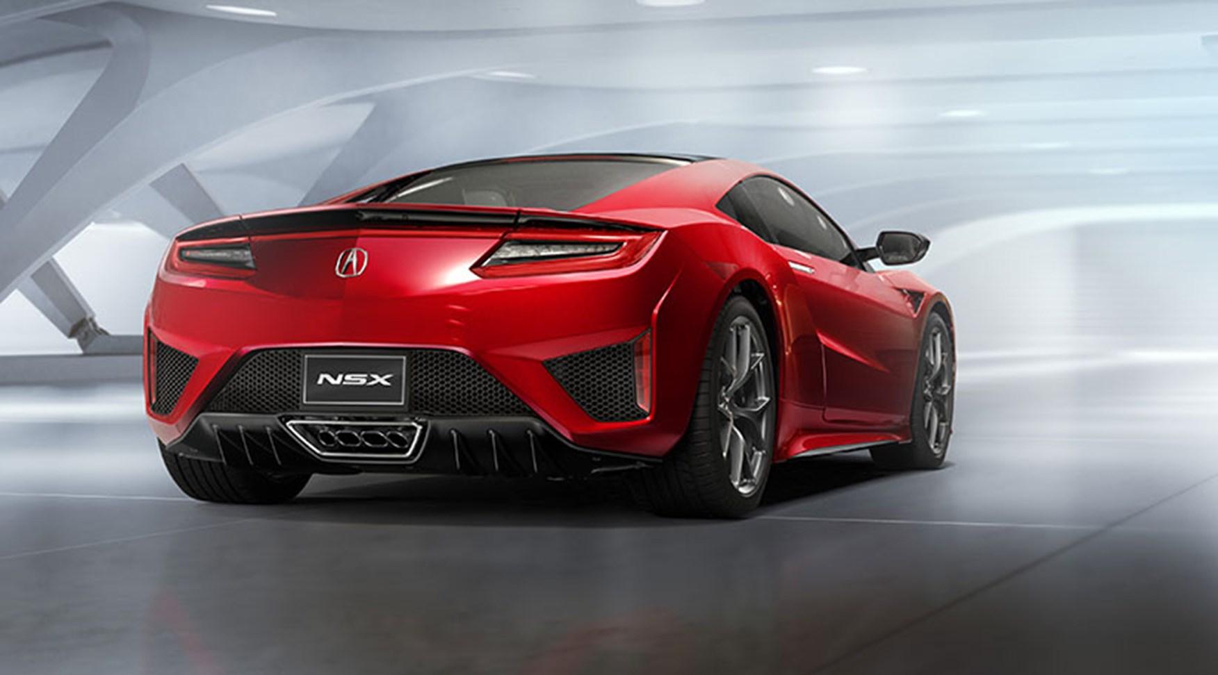Honda Nsx 2016 Acura S Hybrid Sports Car At Detroit By