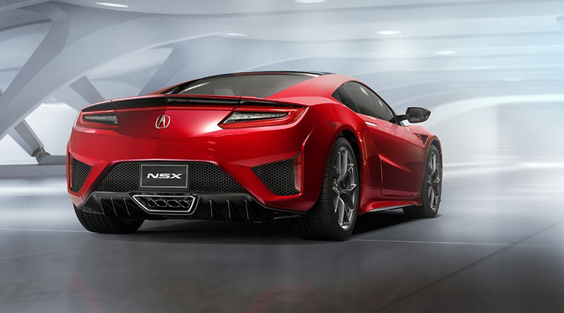 Honda Nsx 2016 Acura S Hybrid Sports Car At Detroit Car Magazine