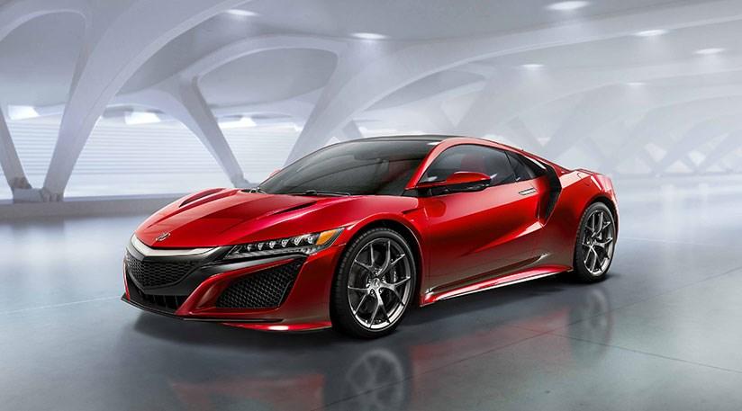 Honda nsx 2016 acura 39 s hybrid sports car at detroit by for Sporty honda cars