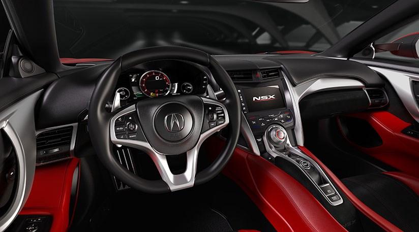 Honda NSX 2016 Acuras hybrid sports car at Detroit by CAR Magazine