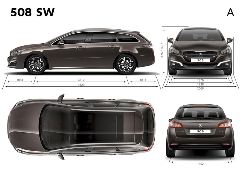 peugeot 508 sw hdi 140 allure 2015 review by car magazine. Black Bedroom Furniture Sets. Home Design Ideas