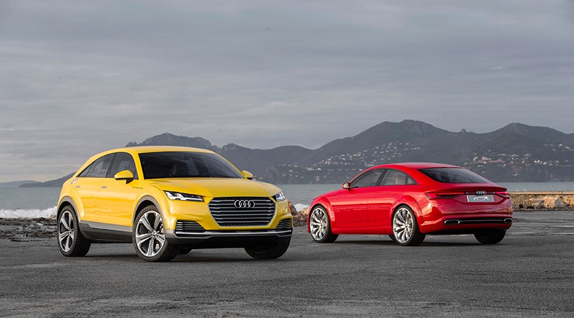 audi tt offroad concept to get nod for 2017 launch as ttqcar