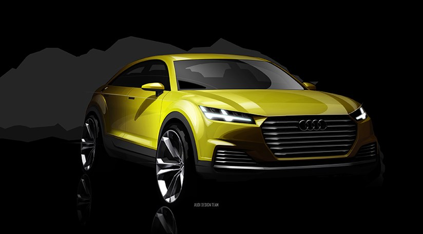 The Audi TTQ is coming, based on this official Audi sketch of the TT ...