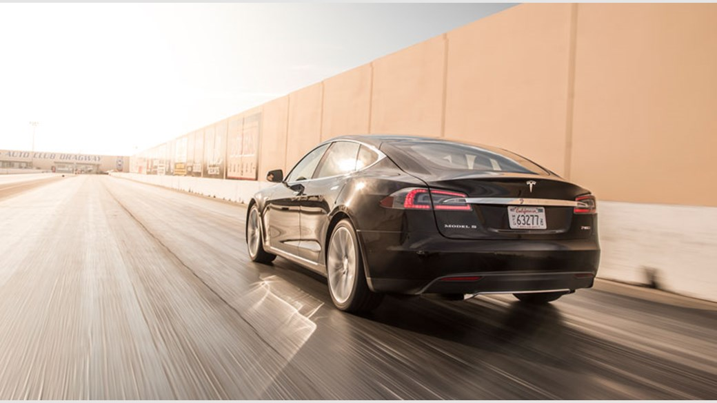 Tesla Model S P85D 2015 review by CAR Magazine