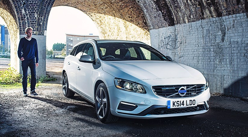 Editor Phil Mcnamara And Car Magazine S New Volvo V60 Plug In Hybrid Estate