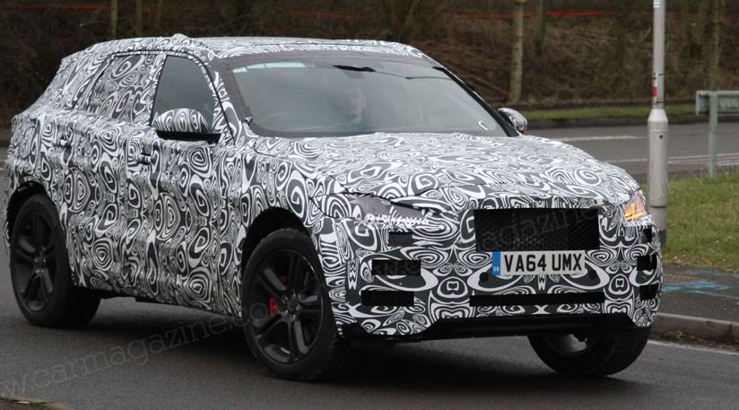 Jaguar F Pace 2016 Spyshots Proof That Cx 17 Show Car