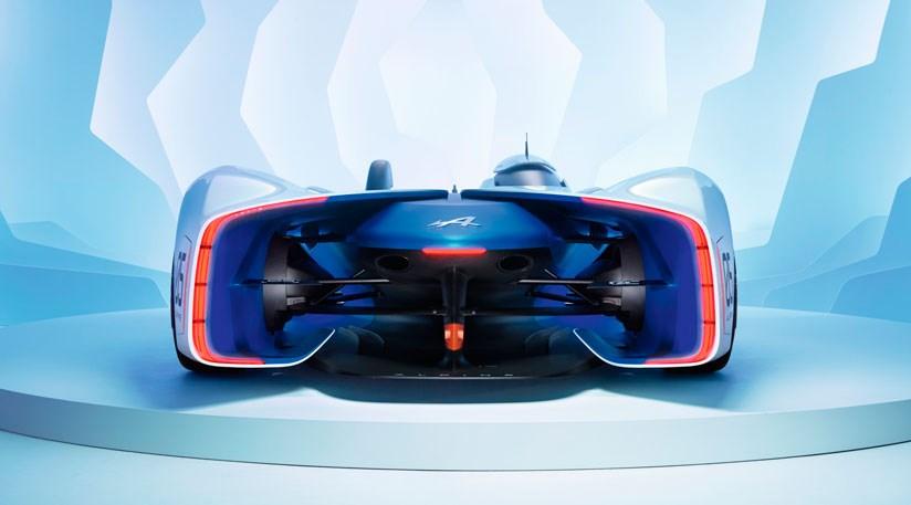 Alpine Vision Gran Turismo Concept Renaults Virtual Sports Racer