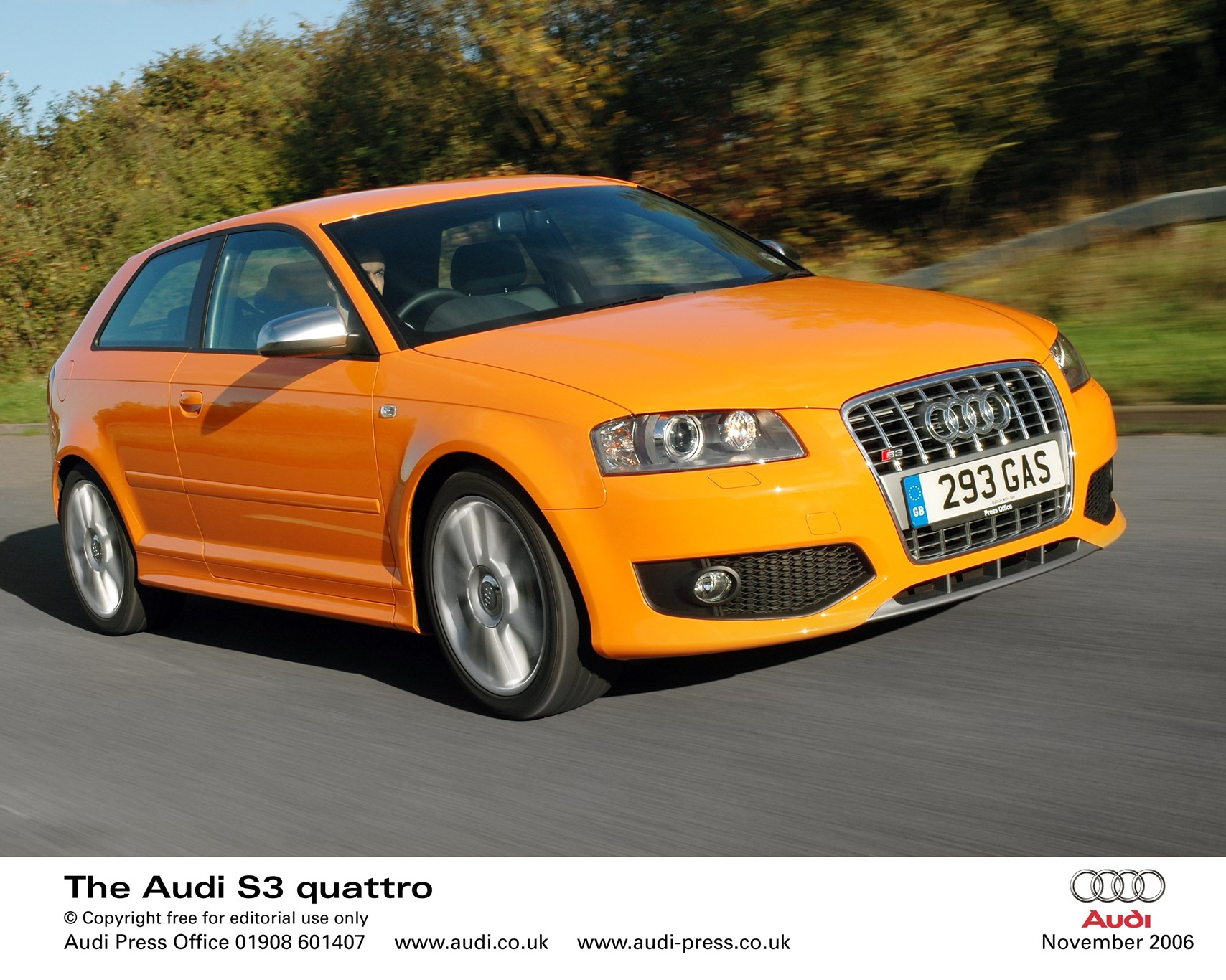 audi s3 2006 first official pictures car magazine. Black Bedroom Furniture Sets. Home Design Ideas