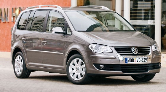 volkswagen touran 2006 first official pictures by car magazine. Black Bedroom Furniture Sets. Home Design Ideas