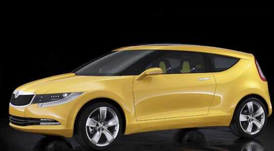 Skoda Joyster Concept 2006 First Official Pictures Car Magazine