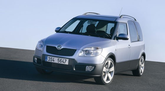 skoda roomster scout 2007 first official pictures by. Black Bedroom Furniture Sets. Home Design Ideas