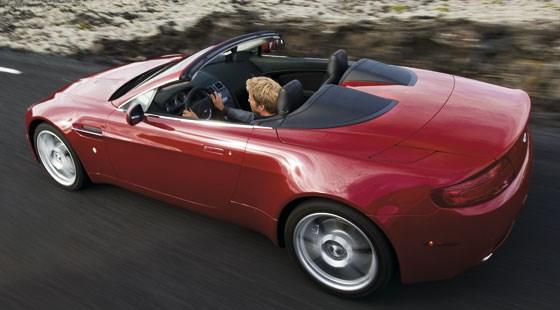 2009 Aston Martin Vantage Convertible. Aston Martin V8 Vantage