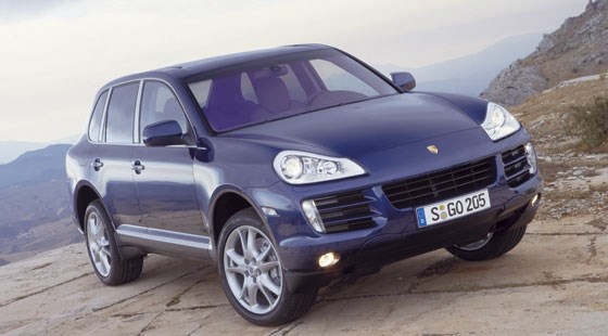 porsche cayenne facelift 2006 first official pictures by car magazine. Black Bedroom Furniture Sets. Home Design Ideas