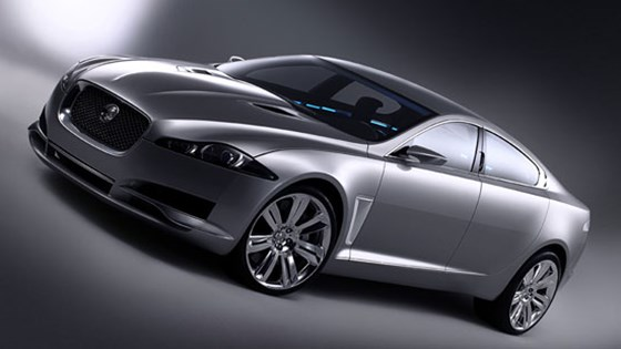 Good Jaguar C XF Concept Car (2007) First Pictures