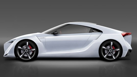 Toyota Ft Hs Concept 2007 First Official Pictures