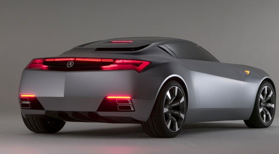 Acura Advanced Sports Car Concept 2007 First Pictures
