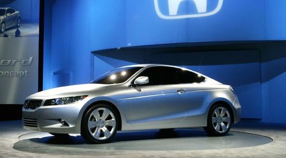 Honda Accord Coupe 2009. Honda Accord Coupe: the