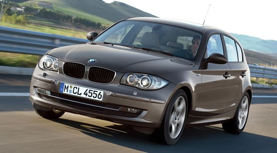 A BMW 1-series facelift?