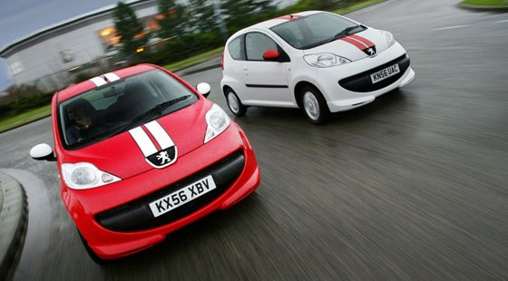 peugeot 107 sport xs (2007): first official picturescar magazine