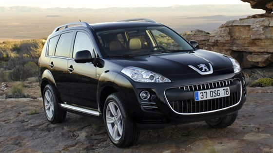Peugeot 4007 (2007): first official pictures