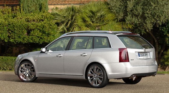Cadillac BLS Wagon (2007): first official pictures | CAR Magazine