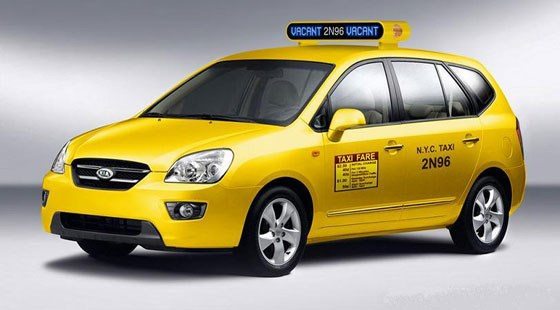 american taxi hits 100 car magazine. Black Bedroom Furniture Sets. Home Design Ideas
