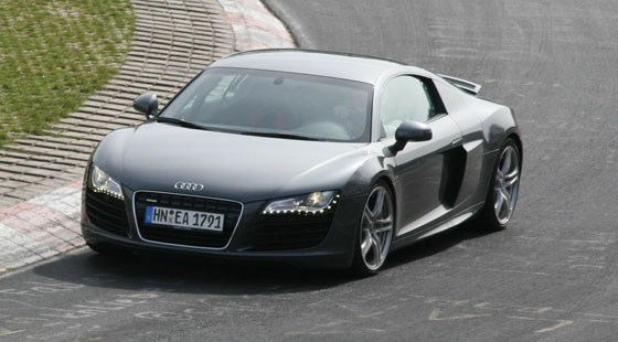 audi r8 v10 2009 by car magazine. Black Bedroom Furniture Sets. Home Design Ideas