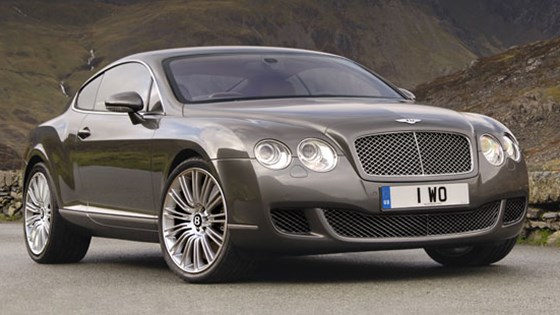 bentley continental gt speed (2007): first official pictures | car