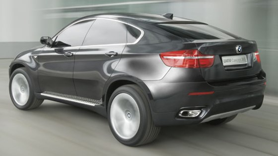 BMW Concept X6 (2007): first official pictures by CAR Magazine