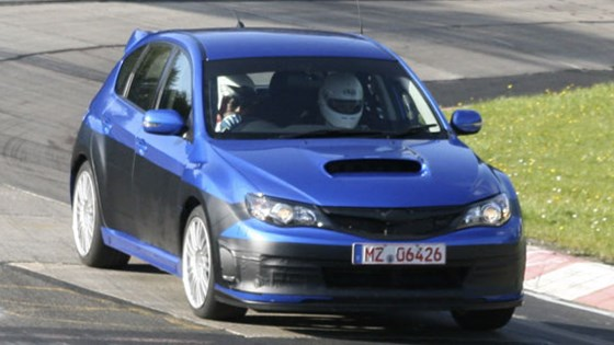 Subaru Impreza Sti 2007 Uncovered Car Magazine