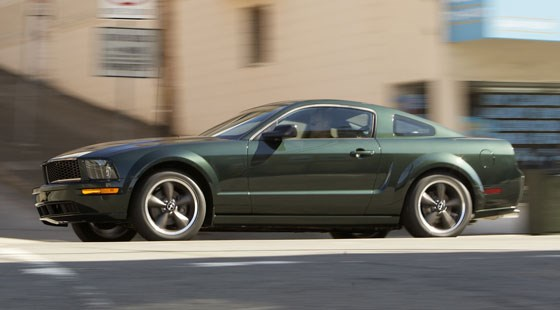 bullitt mustang 2007 first official pictures by car magazine. Black Bedroom Furniture Sets. Home Design Ideas