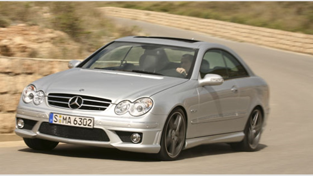Mercedes CLK63 AMG 2006 review by CAR Magazine