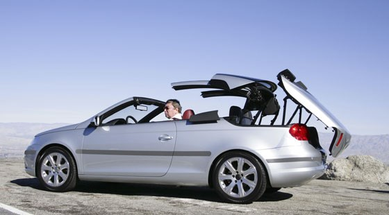 vw eos 2 0t 2006 review by car magazine. Black Bedroom Furniture Sets. Home Design Ideas
