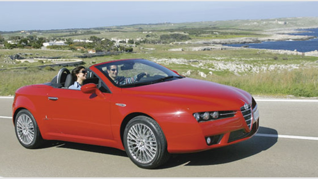 Alfa Romeo Spider V Review CAR Magazine - Alfa romeo spider new model