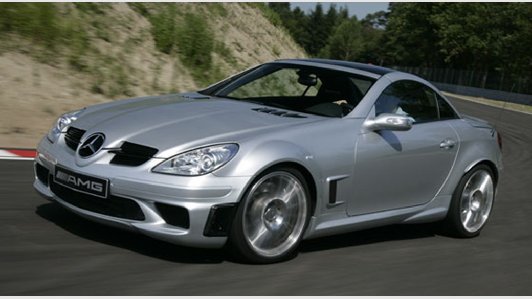Mercedes Slk55 Amg Black Series 2006 Review