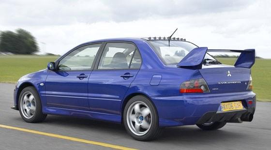 mitsubishi evo ix fq360 2006 review - Mitsubishi Evo 9 Blue