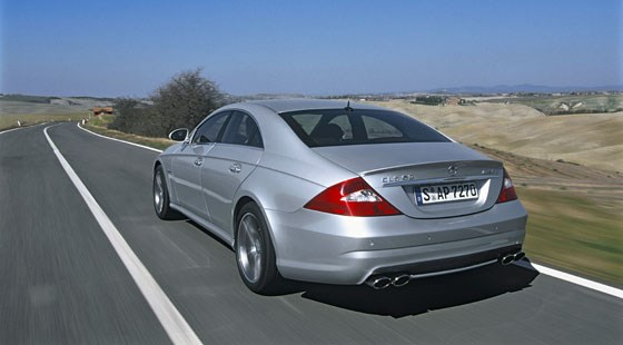 Mercedes CLS63 AMG 2006 review by CAR Magazine