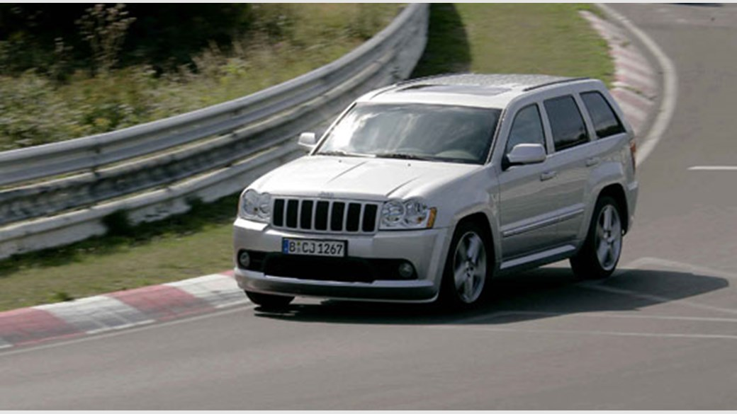 2008 jeep srt8 towing capacity