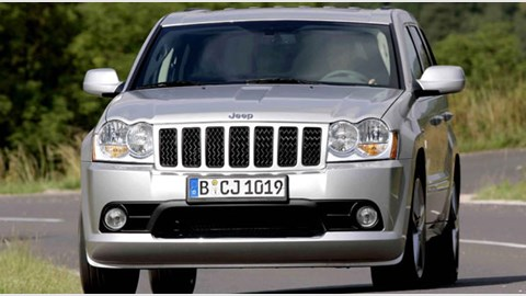 jeep grand cherokee 6 1 srt 8 2006 review by car magazine. Black Bedroom Furniture Sets. Home Design Ideas