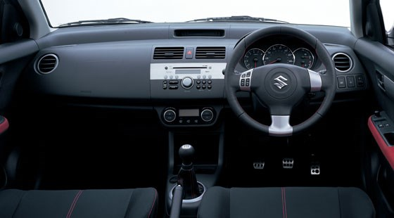 suzuki swift sport 2006 review by car magazine. Black Bedroom Furniture Sets. Home Design Ideas