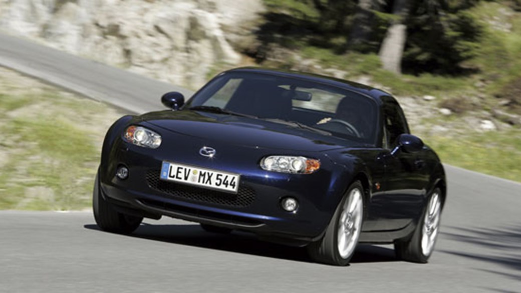Mazda MX 5 Roadster Coupe (2006) Review