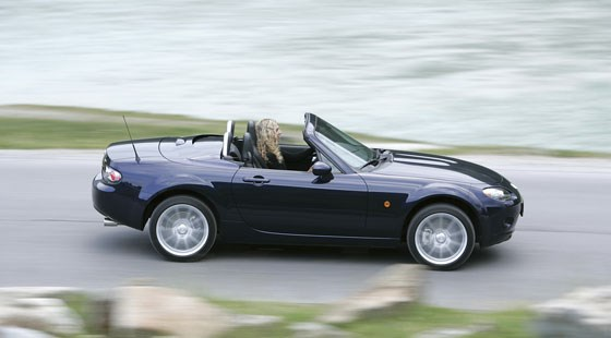 mazda mx-5 roadster coupe (2006) reviewcar magazine