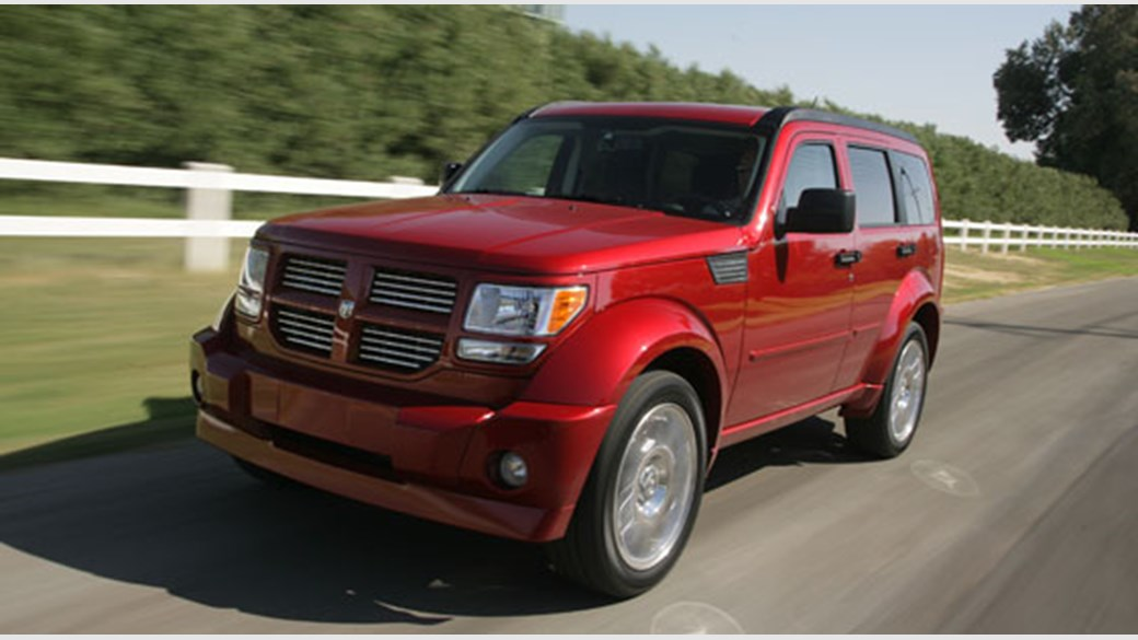 Dodge Nitro 3 7 Sxt 2006 Review