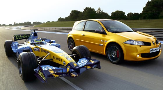 renaultsport megane 230 f1 team r26 2006 review by car magazine. Black Bedroom Furniture Sets. Home Design Ideas
