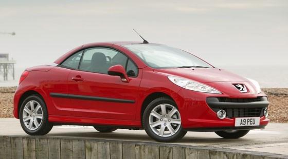 peugeot 207 cc 2007 driven review by car magazine. Black Bedroom Furniture Sets. Home Design Ideas