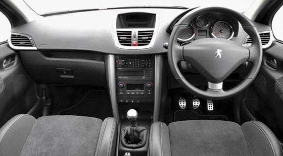 peugeot 207 gti 2007 review by car magazine. Black Bedroom Furniture Sets. Home Design Ideas