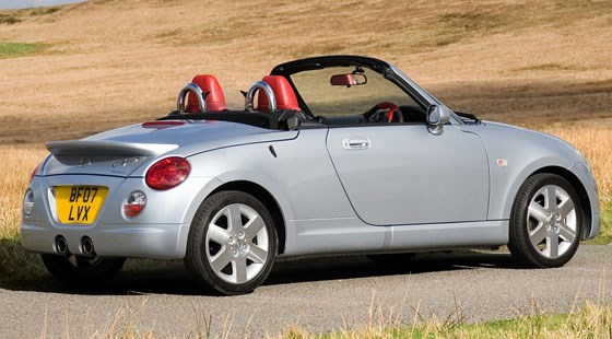 daihatsu copen 2007 review by car magazine. Black Bedroom Furniture Sets. Home Design Ideas